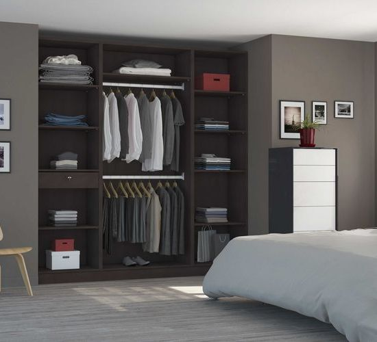 caisson dressing excellent superbe meuble dressing leroy merlin caisson spaceo home x x with. Black Bedroom Furniture Sets. Home Design Ideas